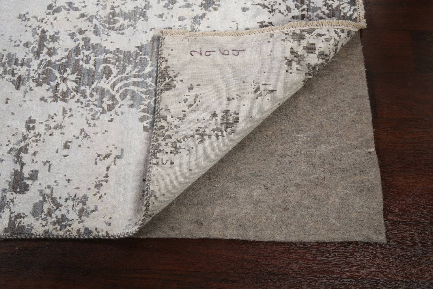 All-Over Distressed Art & Craft Oriental Area Rug 5x7 image 7