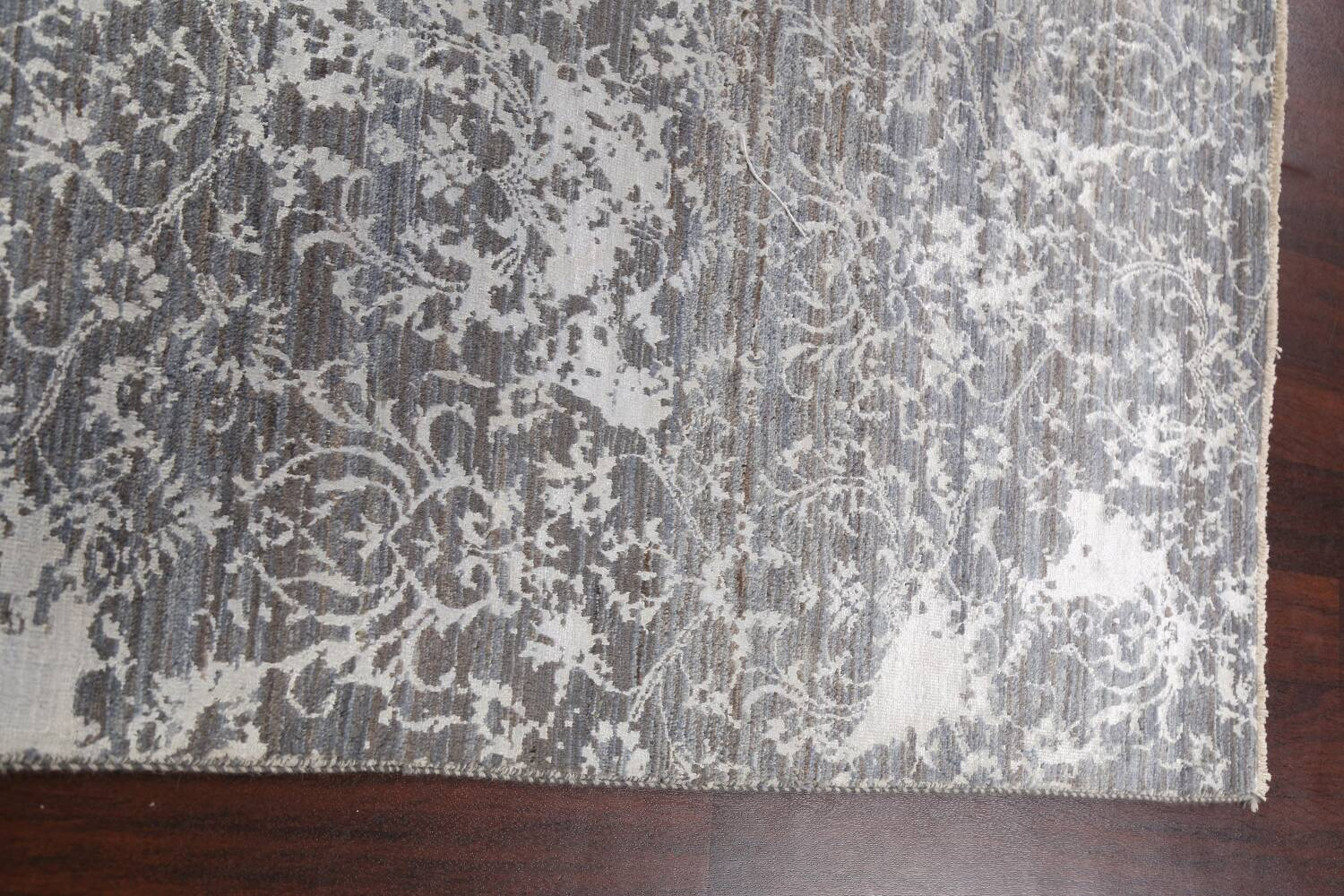 All-Over Distressed Art & Craft Oriental Area Rug 5x7 image 11