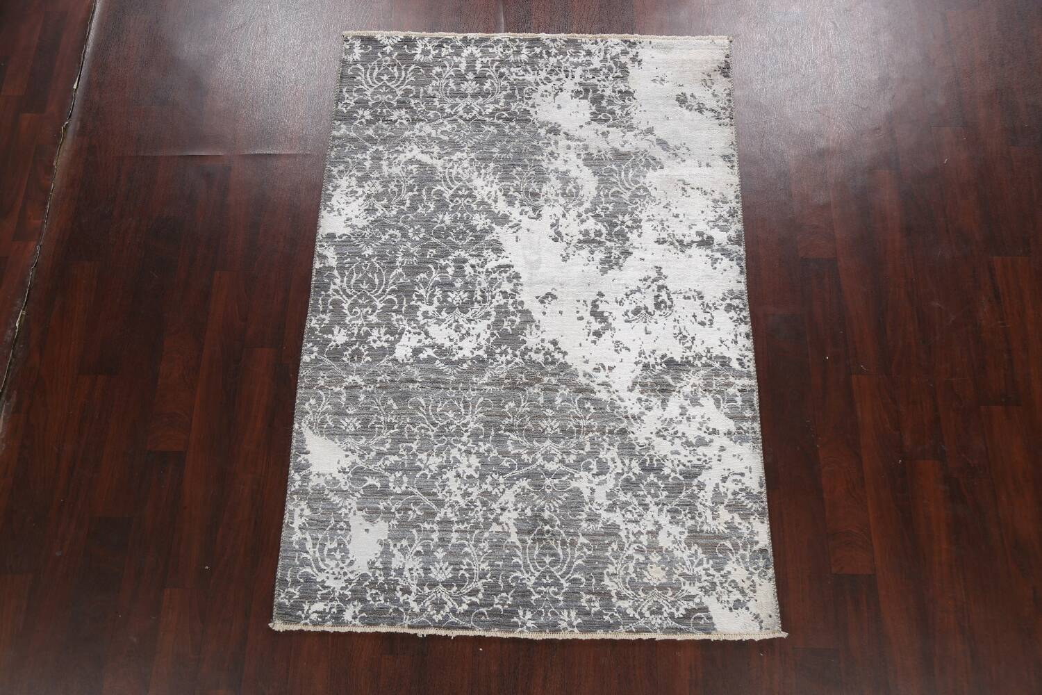 All-Over Distressed Art & Craft Oriental Area Rug 5x7 image 13
