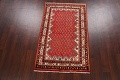 Red Boteh Botemir Persian Area Rug 3x5 image 2