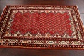 Red Boteh Botemir Persian Area Rug 3x5 image 15