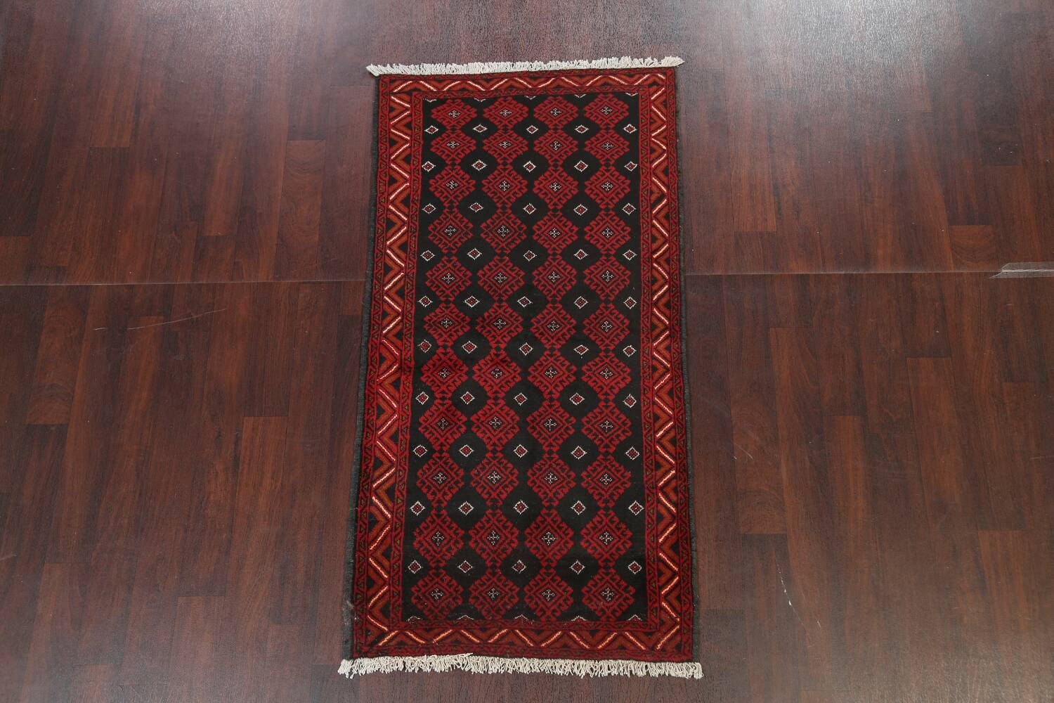 All-Over Geometric Balouch Oriental Area Rug 3x6 image 2