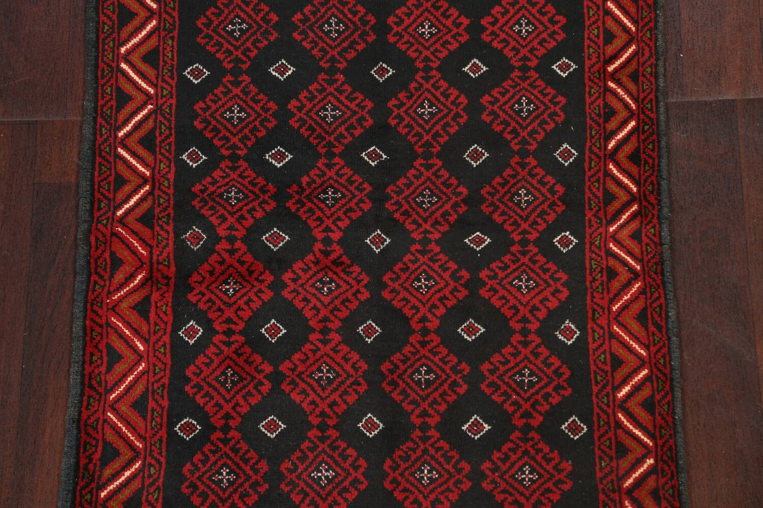All-Over Geometric Balouch Oriental Area Rug 3x6 image 4