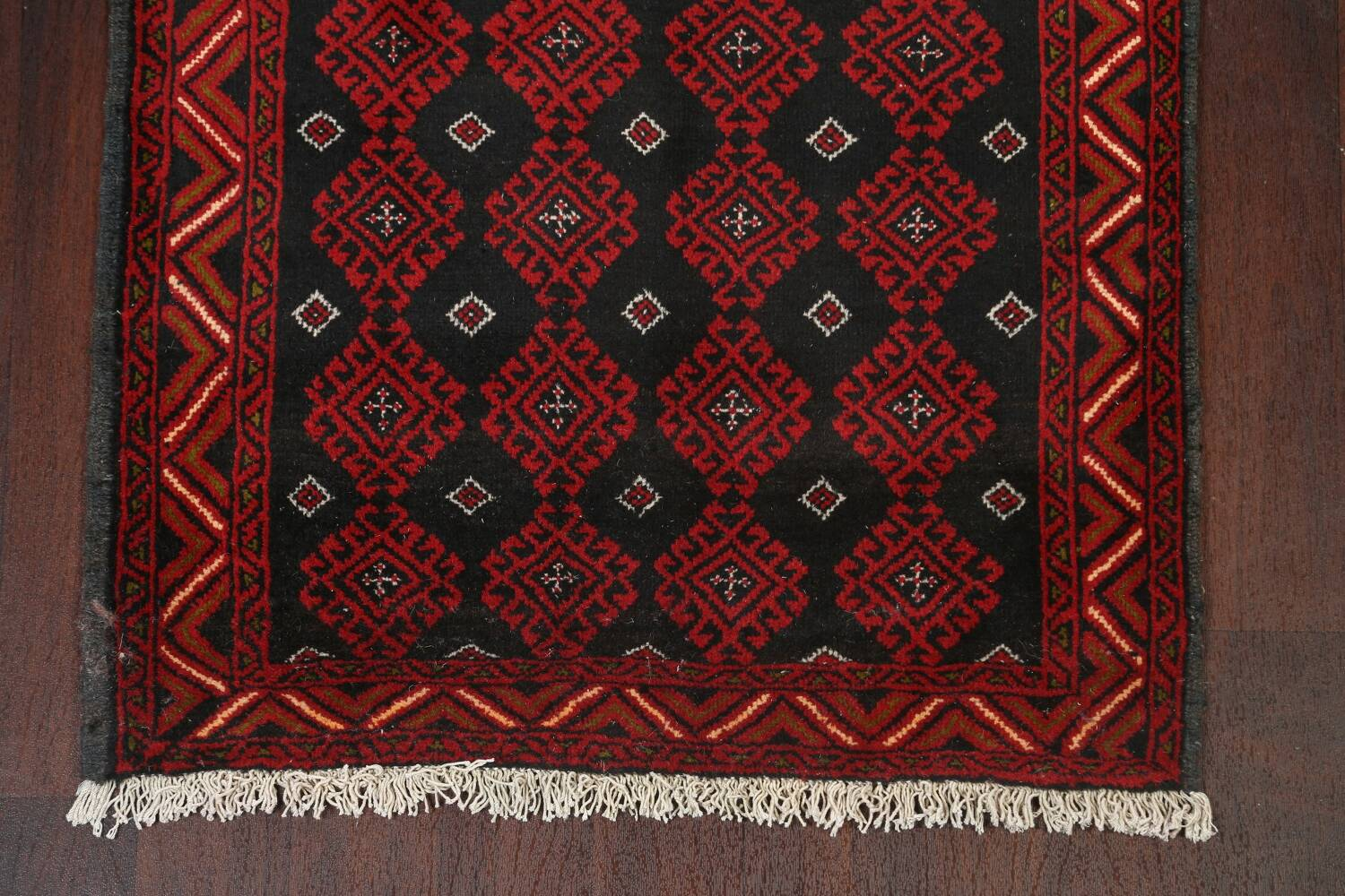 All-Over Geometric Balouch Oriental Area Rug 3x6 image 8
