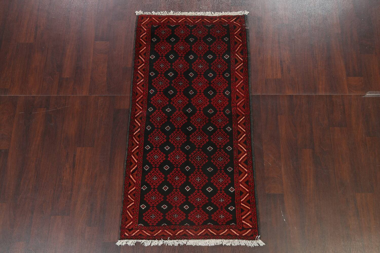 All-Over Geometric Balouch Oriental Area Rug 3x6 image 14