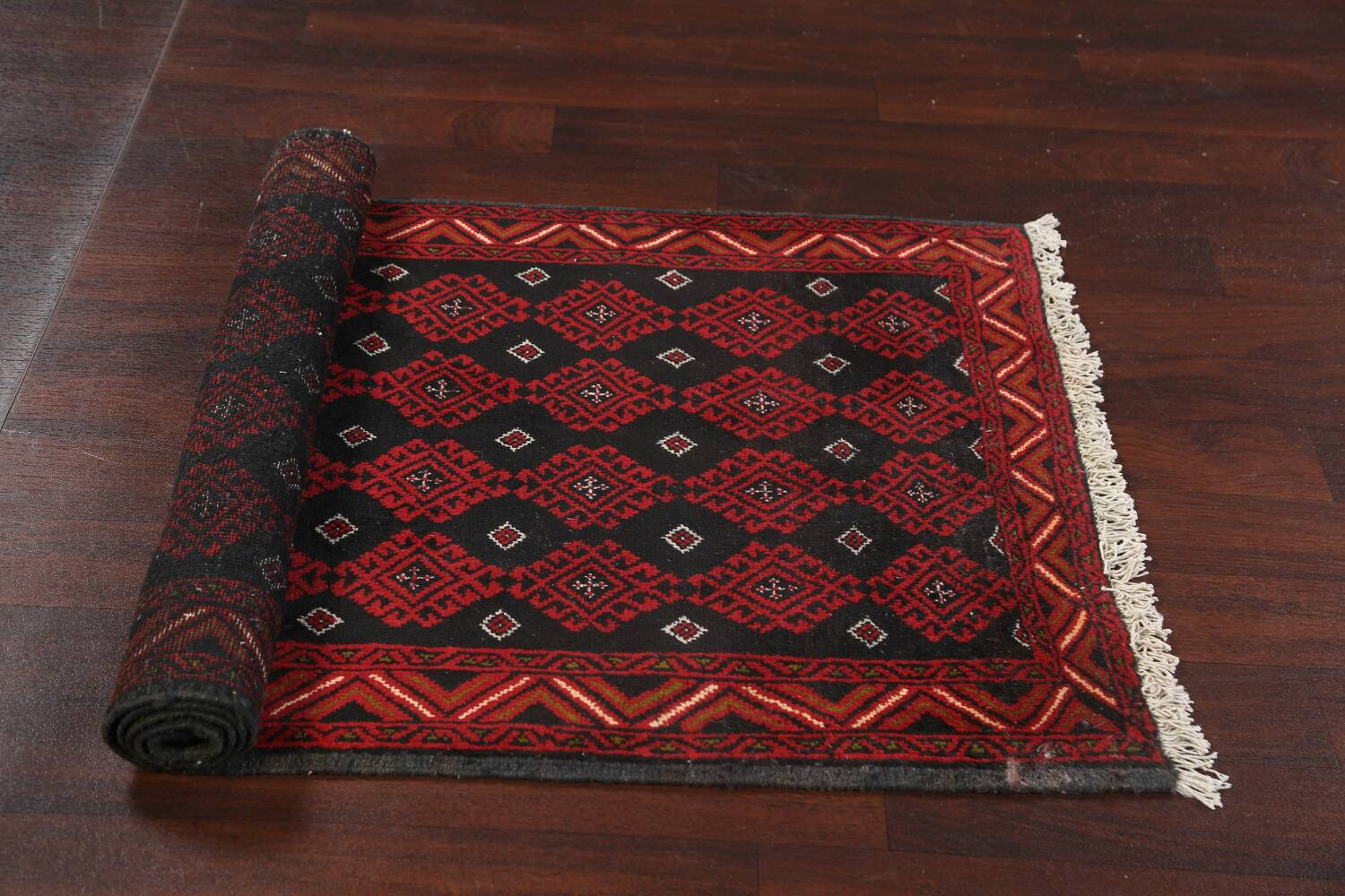 All-Over Geometric Balouch Oriental Area Rug 3x6 image 15