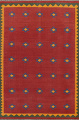 All-Over Tribal Kilim Shiraz Persian Area Rug 7x10 image 1
