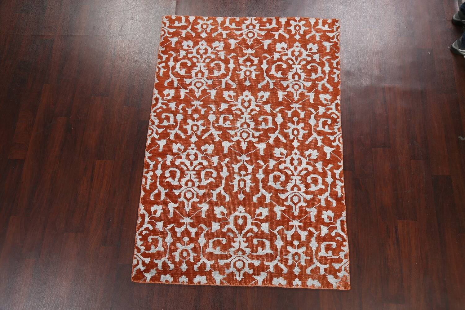 All-Over Abstract Oriental Area Rug 4x7 image 2