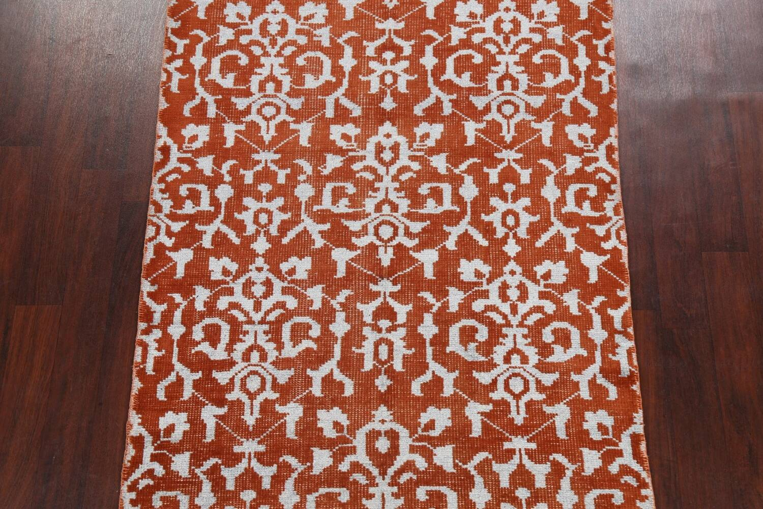 All-Over Abstract Oriental Area Rug 4x7 image 3