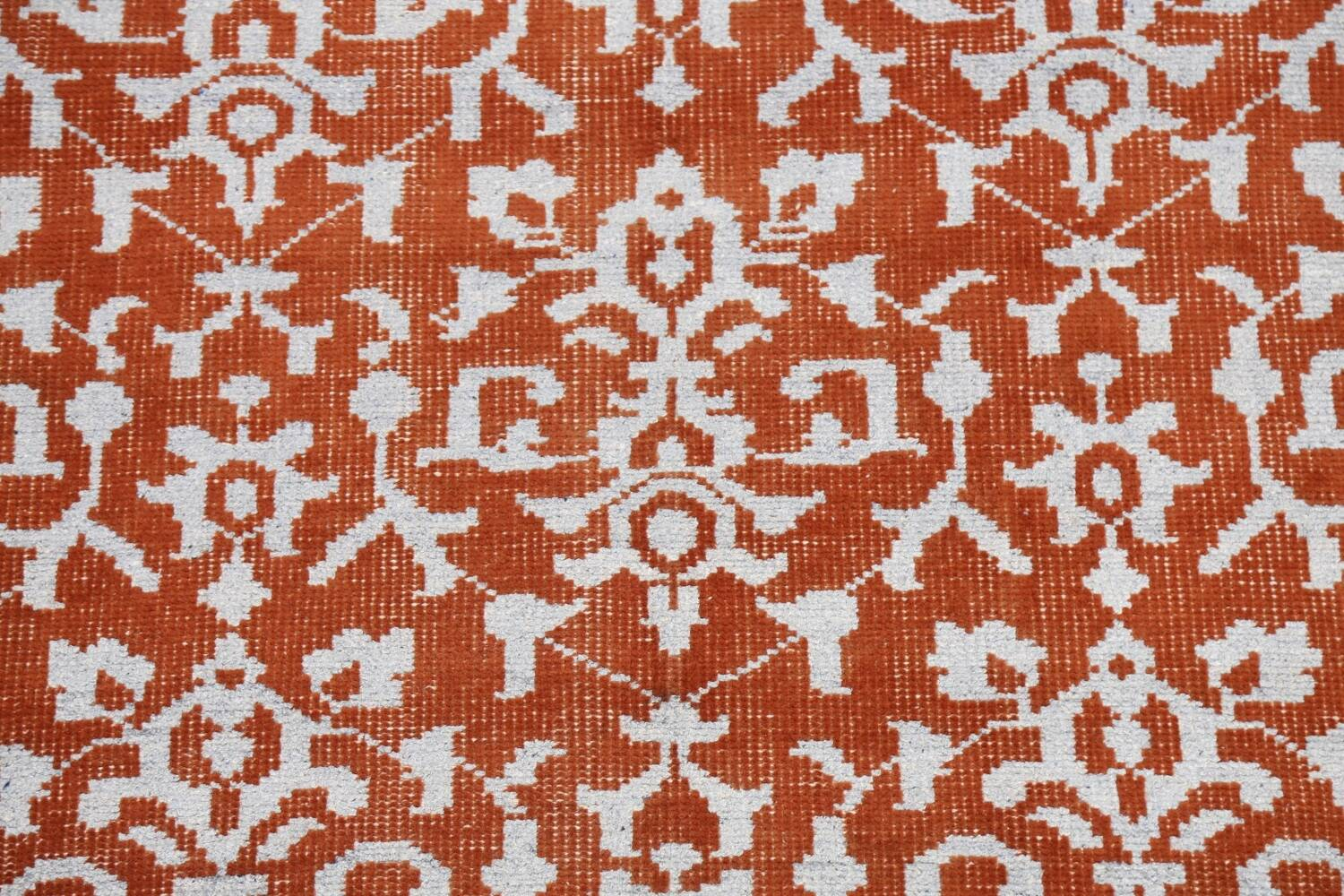 All-Over Abstract Oriental Area Rug 4x7 image 4