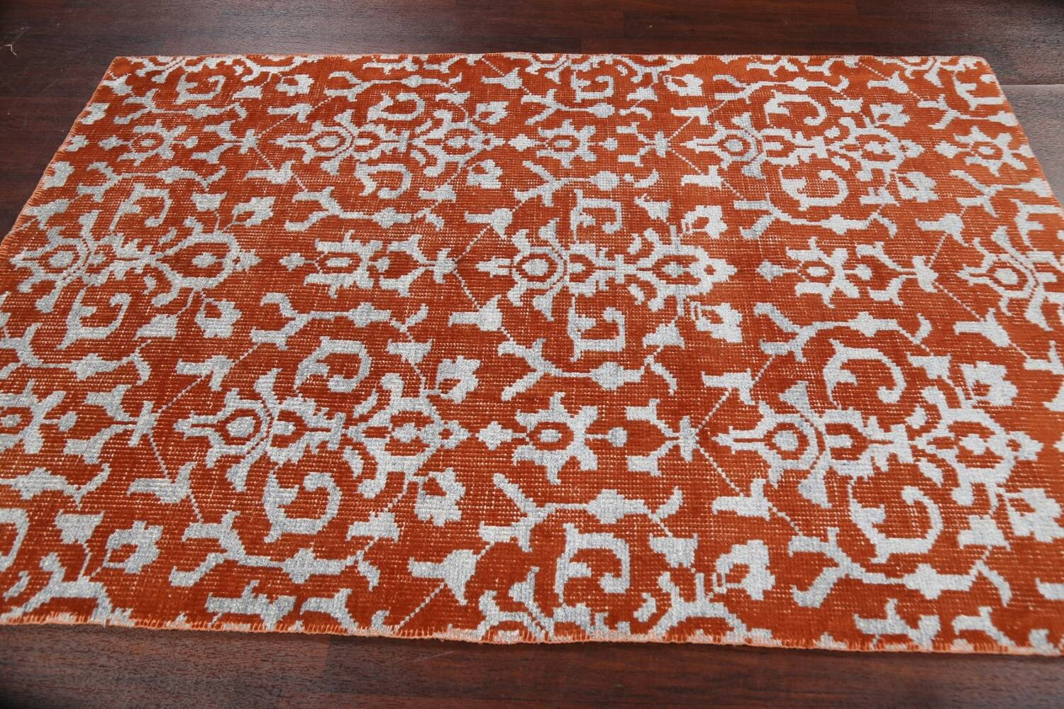 All-Over Abstract Oriental Area Rug 4x7 image 12