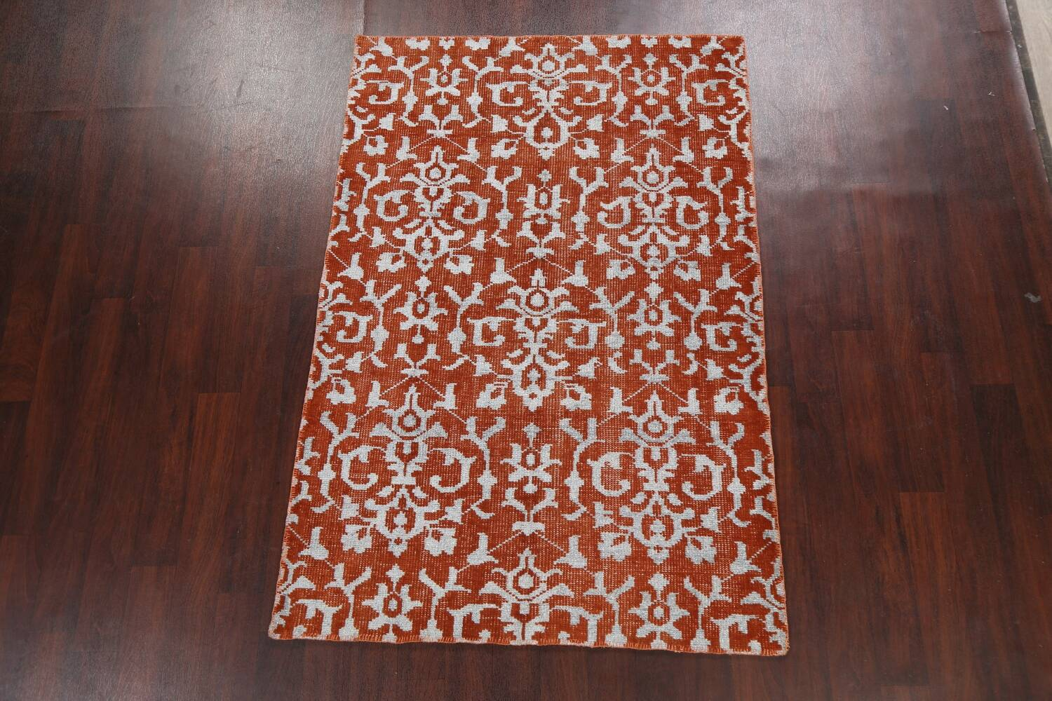 All-Over Abstract Oriental Area Rug 4x7 image 13