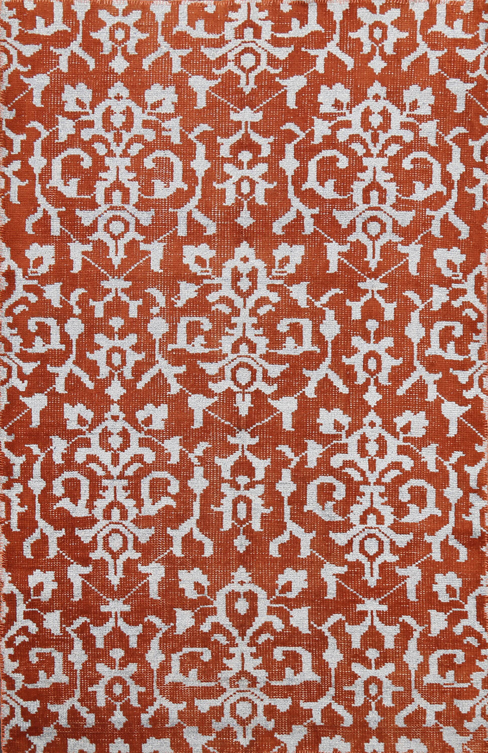 All-Over Abstract Oriental Area Rug 4x7 image 1
