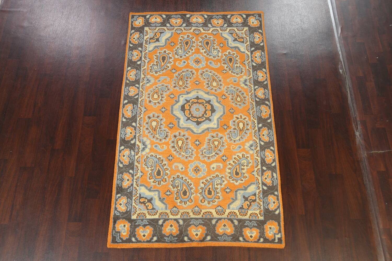 Paisley Abstract Oriental Area Rug 5x8 image 2