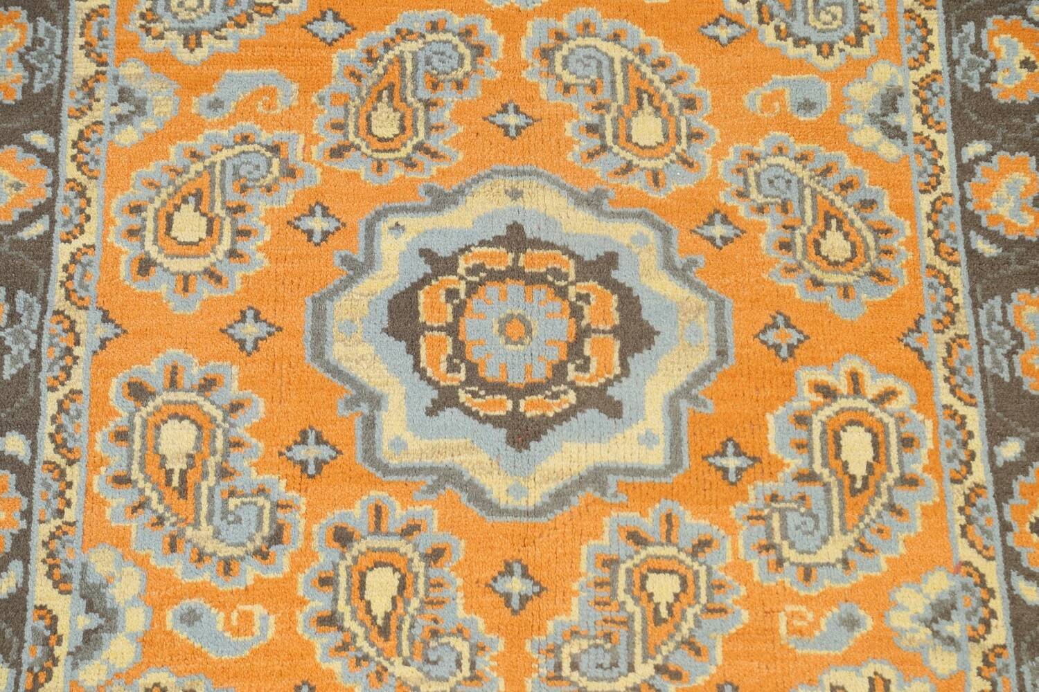 Paisley Abstract Oriental Area Rug 5x8 image 4