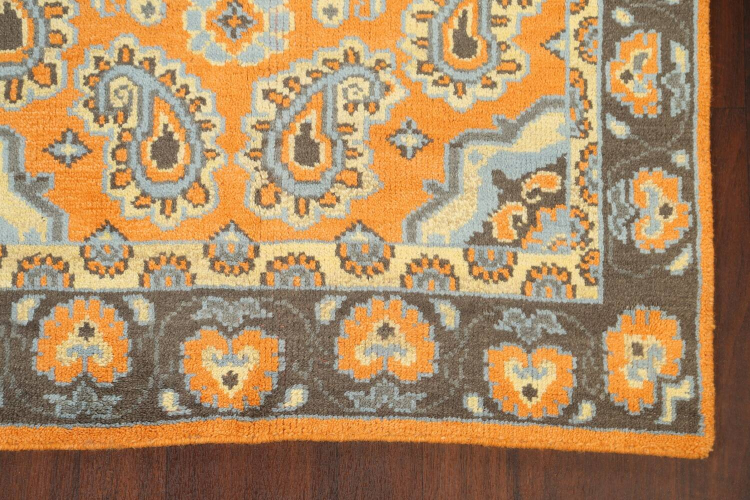 Paisley Abstract Oriental Area Rug 5x8 image 5