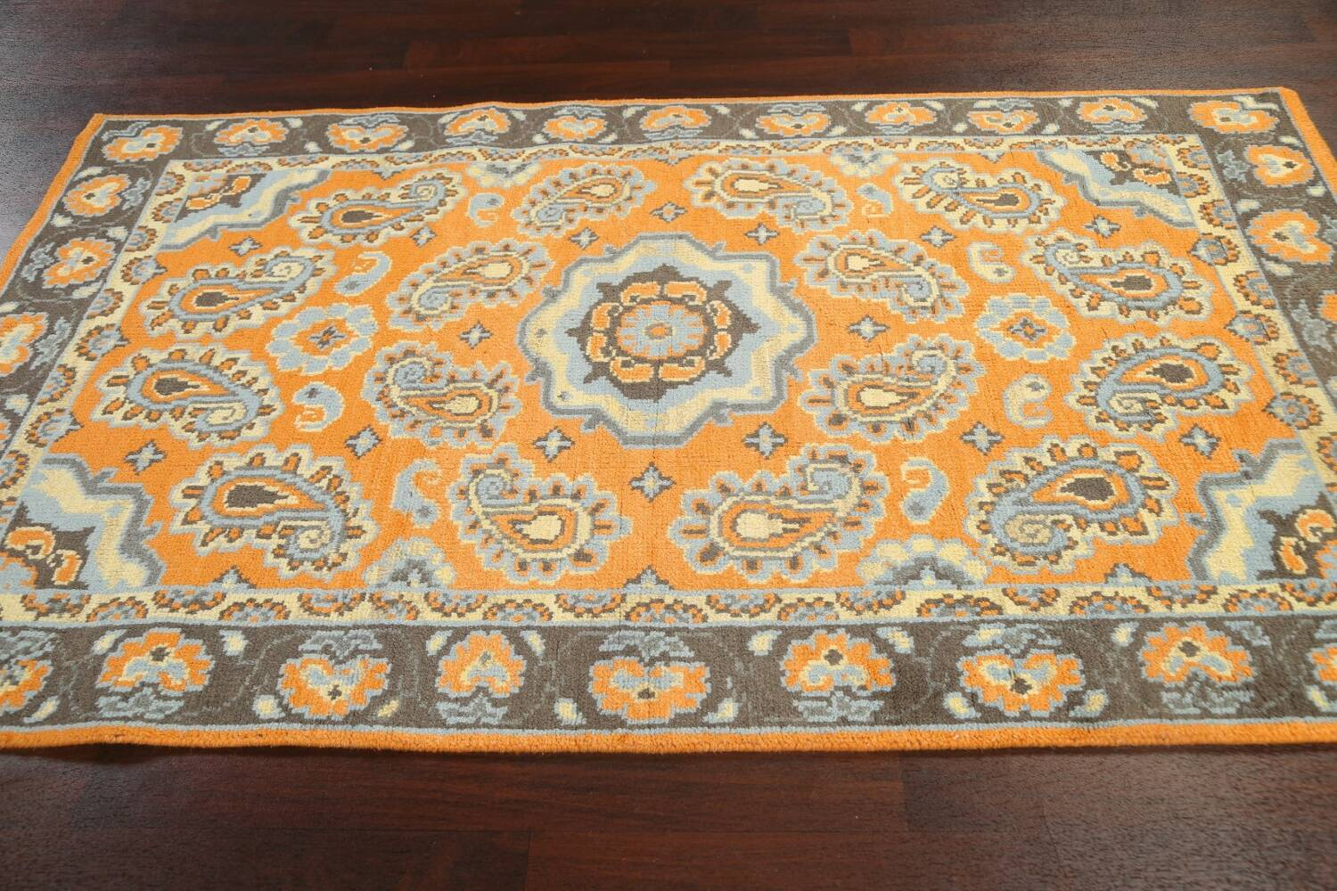 Paisley Abstract Oriental Area Rug 5x8 image 12
