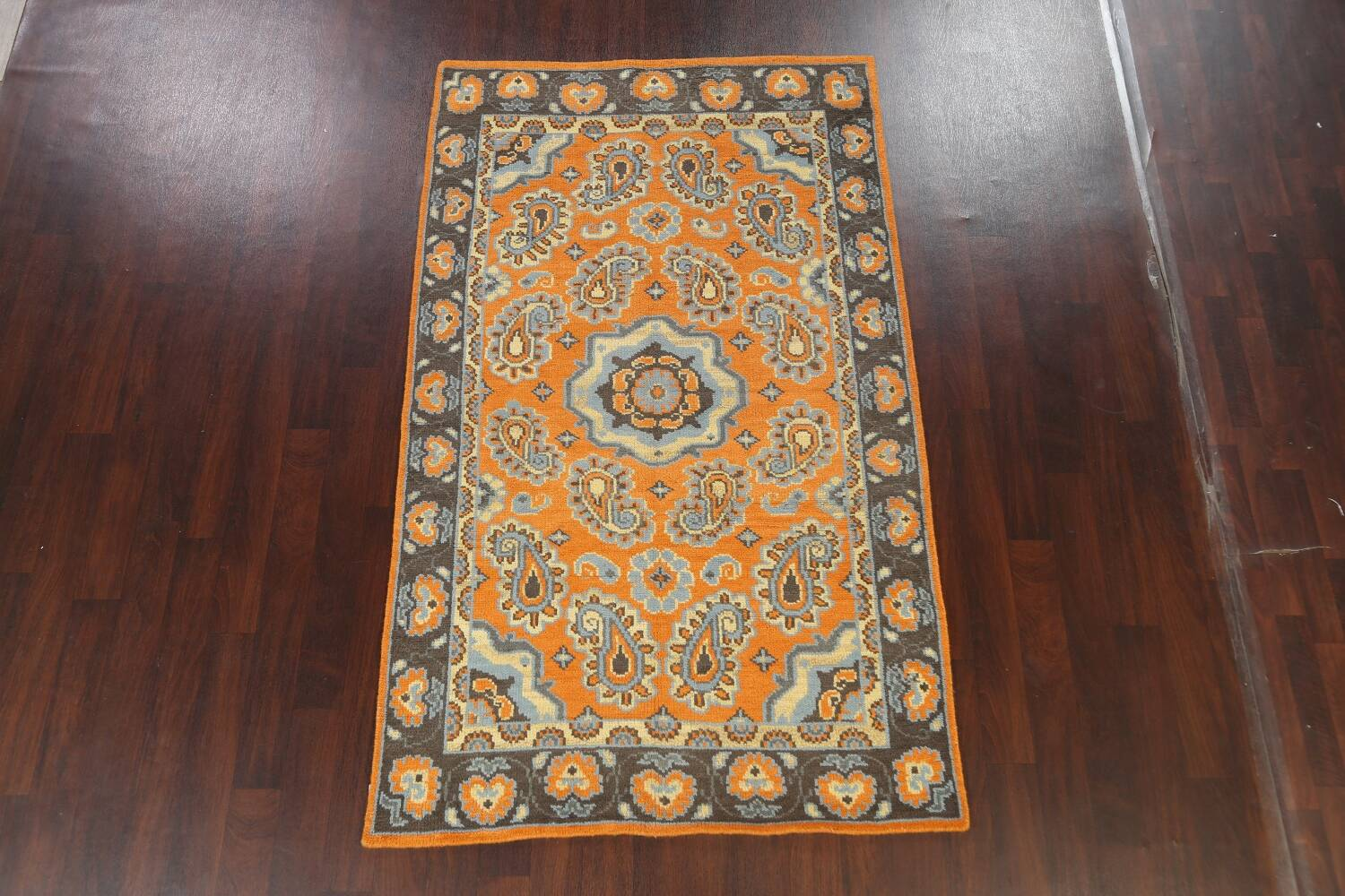 Paisley Abstract Oriental Area Rug 5x8 image 13