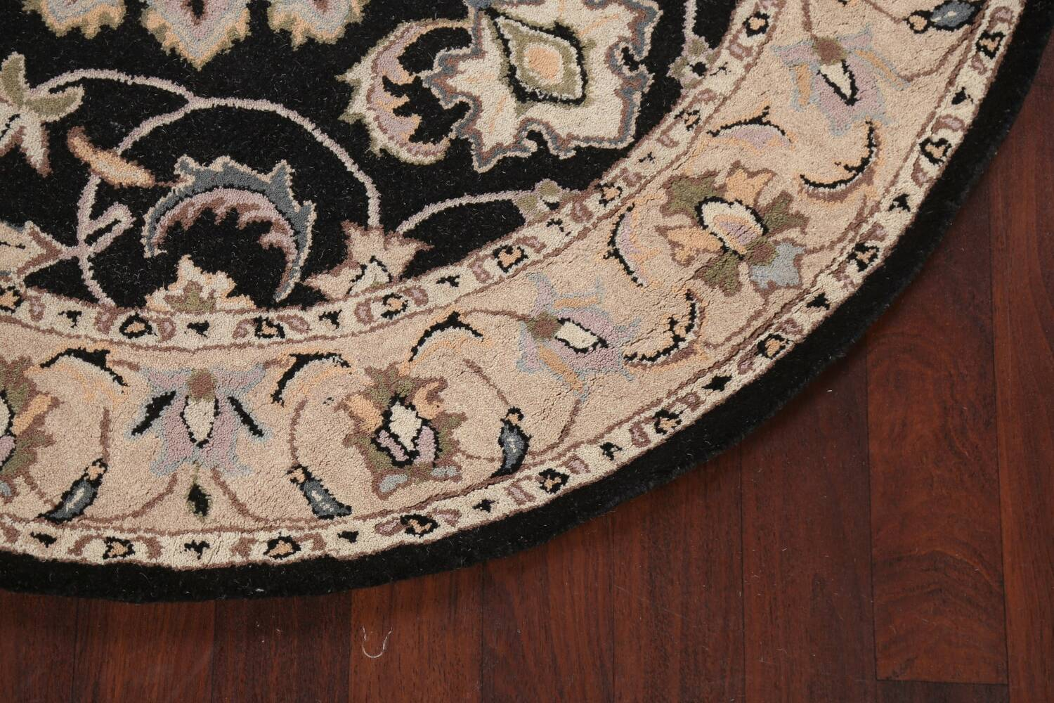Floral Round Rug 6x6 image 6