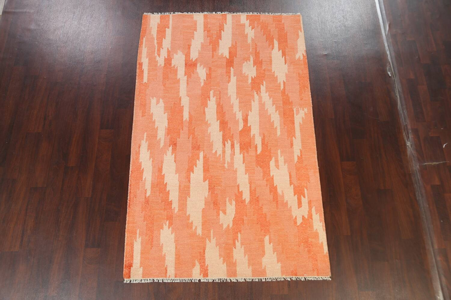 Contemporary Abstract Oriental Area Rug 5x8 image 2