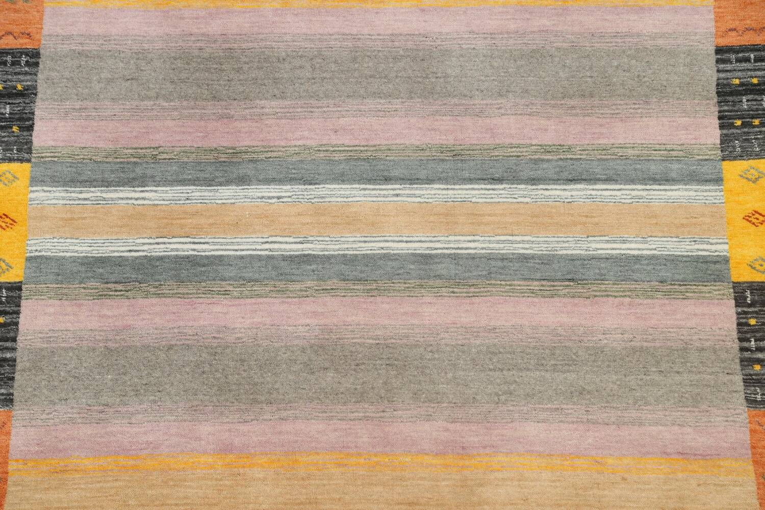 Abstract Gabbeh Oriental Area Rug 6x8 image 4