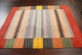 Abstract Gabbeh Oriental Area Rug 6x8 image 12