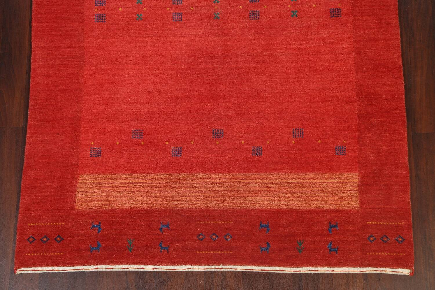 Abstract Gabbeh Oriental Area Rug 6x8 image 8