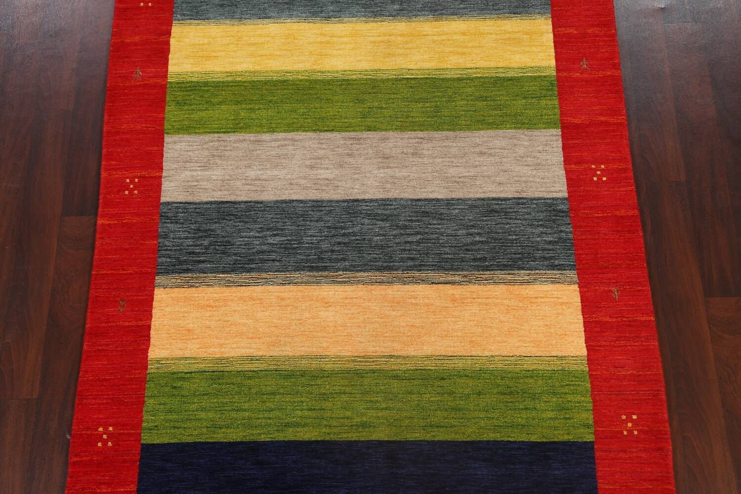Abstract Contemporary Gabbeh Oriental Area Rug 6x8 image 3