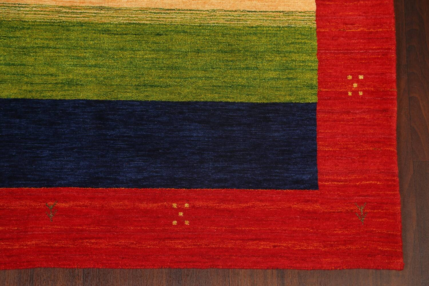 Abstract Contemporary Gabbeh Oriental Area Rug 6x8 image 5