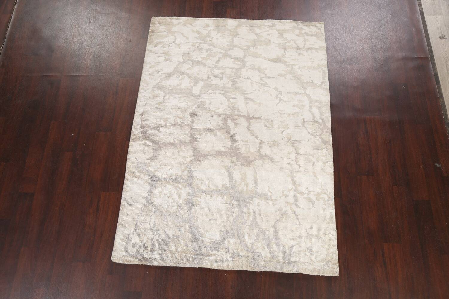 Contemporary Abstract Oriental Area Rug 5x7 image 2