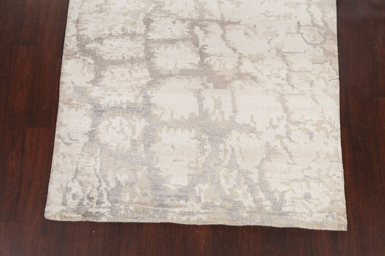 Contemporary Abstract Oriental Area Rug 5x7 image 8