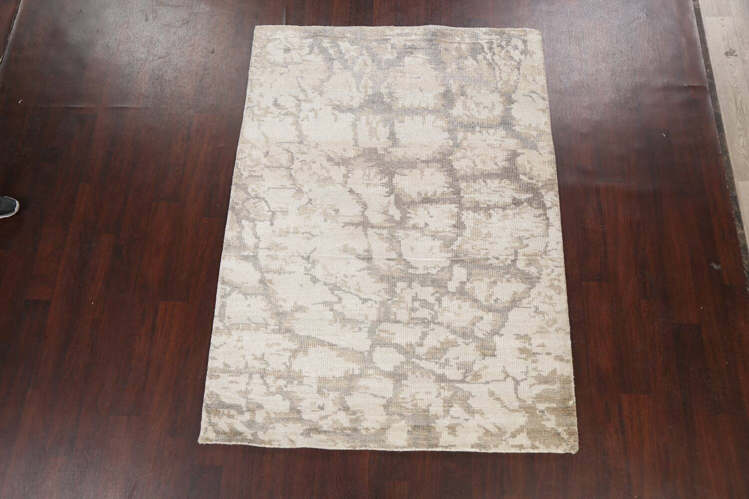 Contemporary Abstract Oriental Area Rug 5x7 image 13