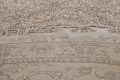 100% Vegetable Dye Floral Tabriz Persian Area Rug 22x23 Round image 7