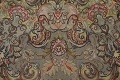 100% Vegetable Dye Floral Tabriz Persian Area Rug 22x23 Round image 17