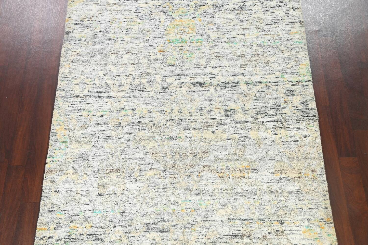 Contemporary Abstract Oriental Area Rug 6x9 image 3