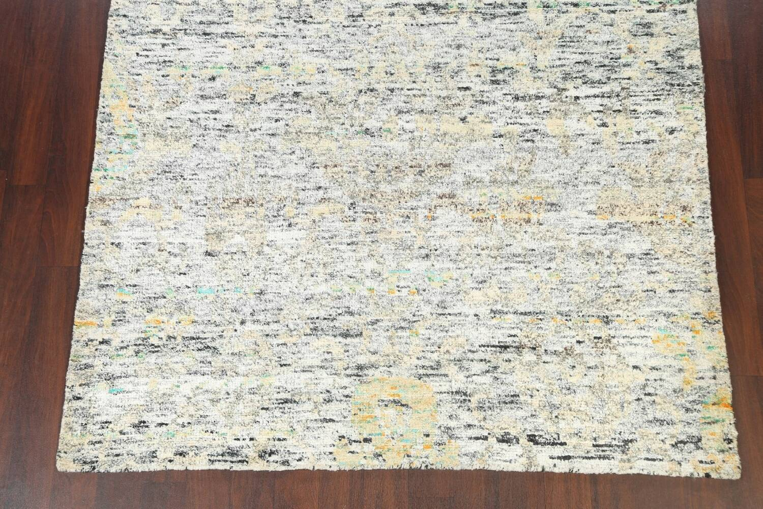 Contemporary Abstract Oriental Area Rug 6x9 image 5