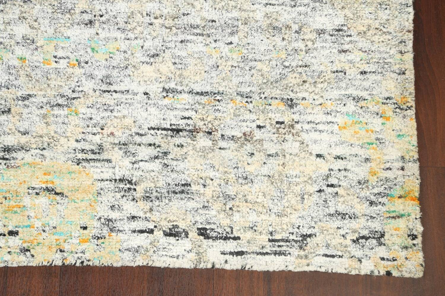 Contemporary Abstract Oriental Area Rug 6x9 image 6