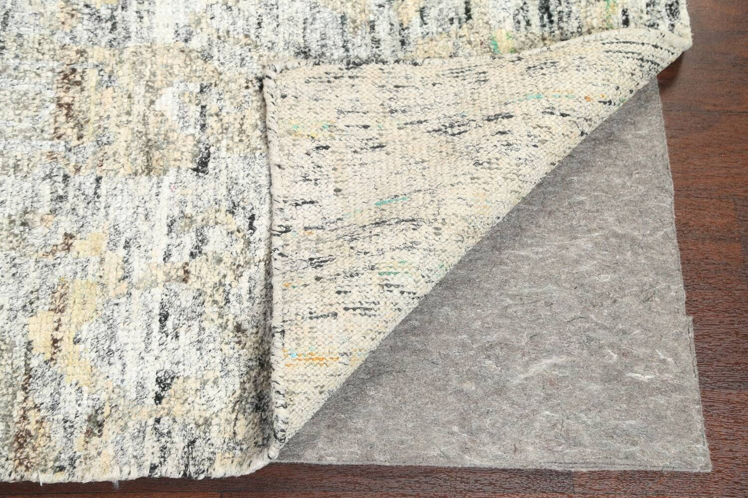 Contemporary Abstract Oriental Area Rug 6x9 image 7