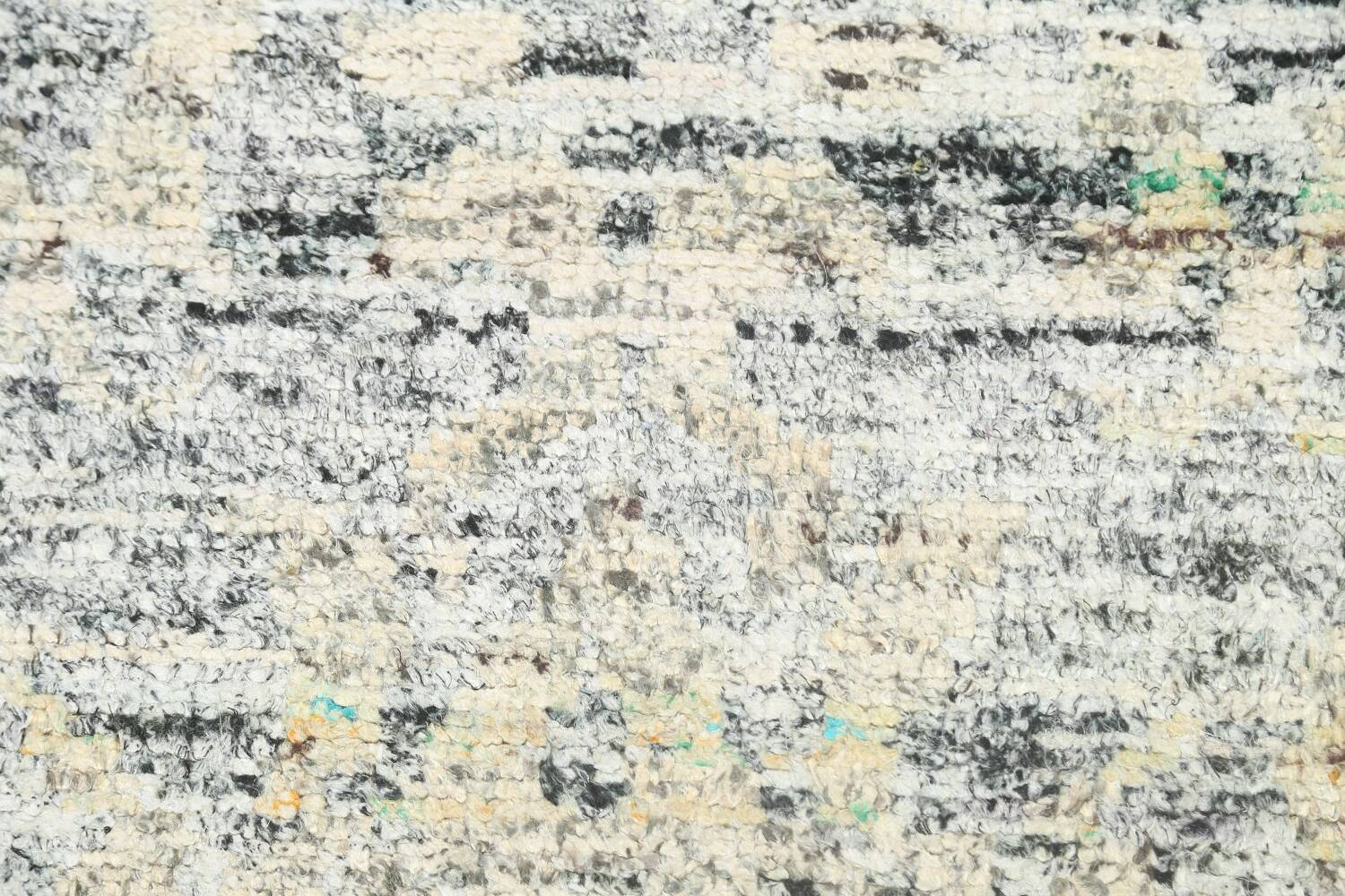 Contemporary Abstract Oriental Area Rug 6x9 image 8
