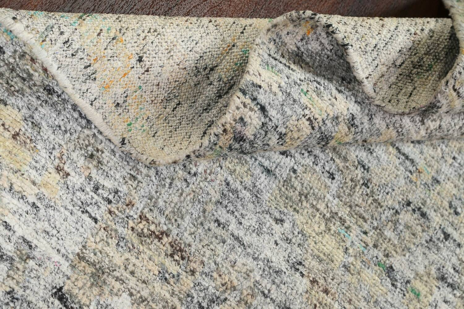 Contemporary Abstract Oriental Area Rug 6x9 image 15