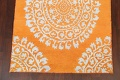 Contemporary Abstract Oriental Area Rug 5x7 image 5