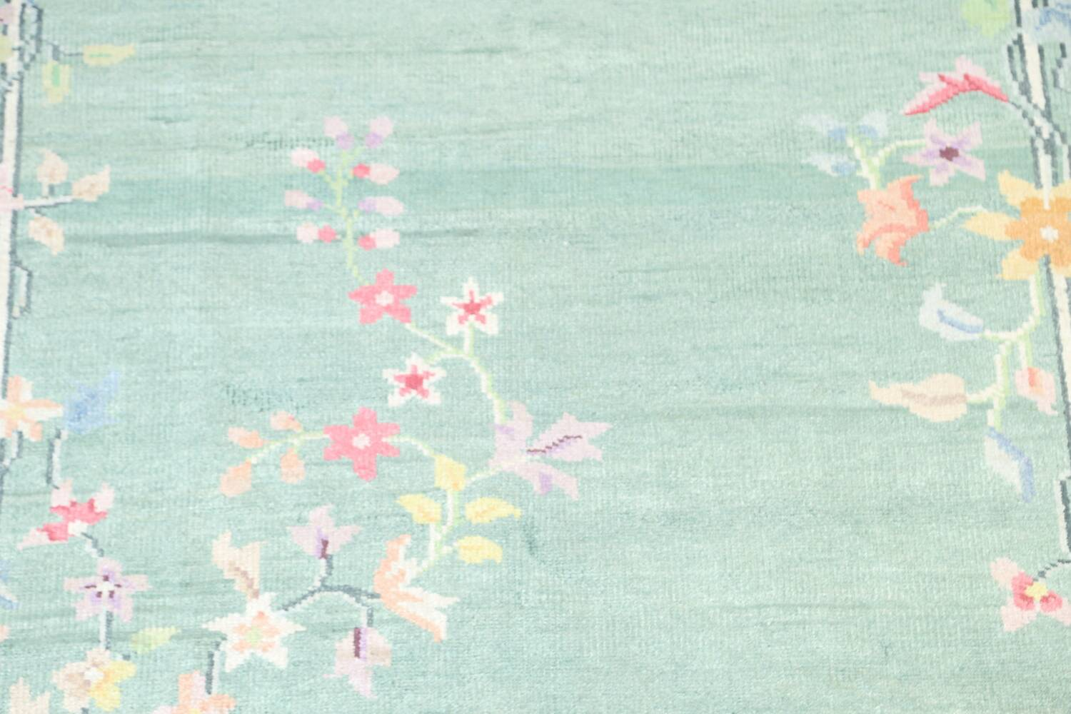 Floral Contemporary Abstract Oriental Area Rug 5x8 image 4