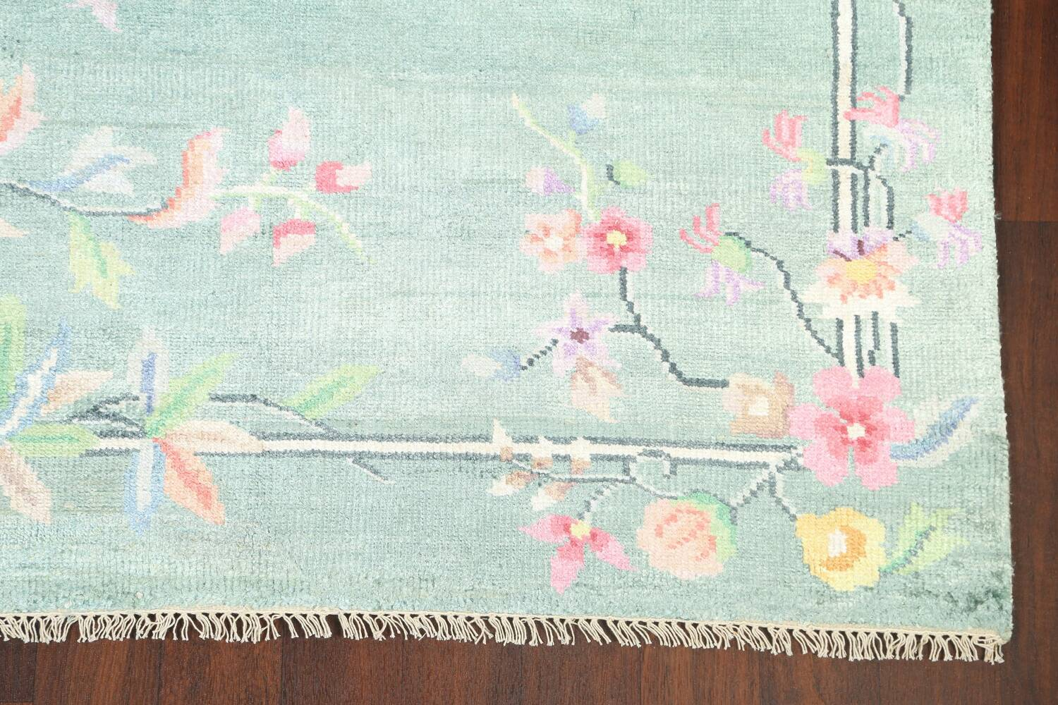 Floral Contemporary Abstract Oriental Area Rug 5x8 image 6