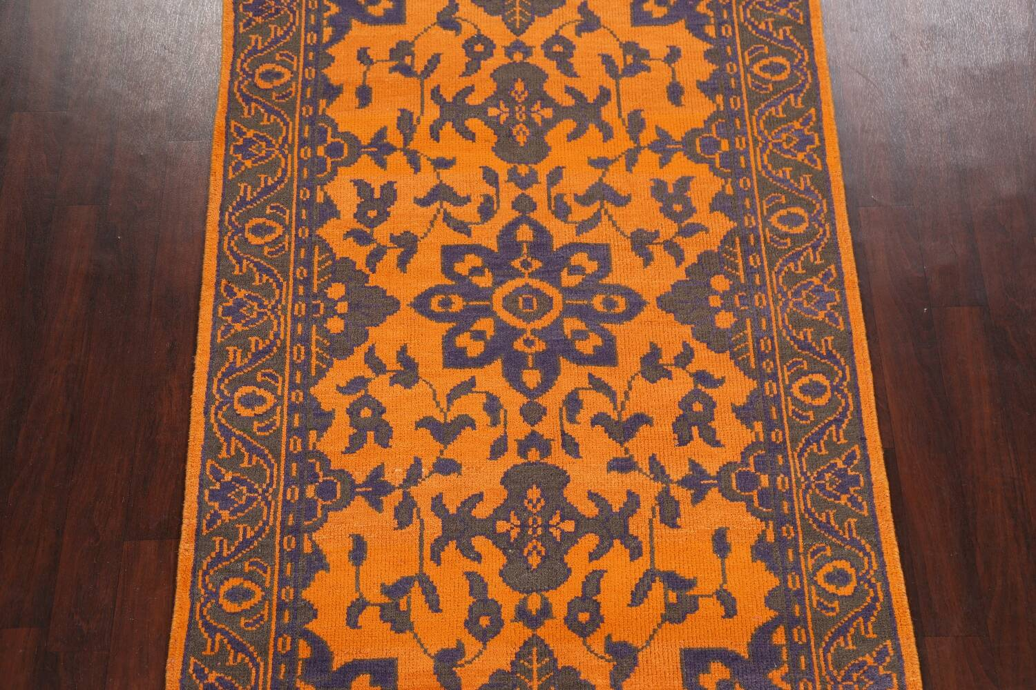 Floral Abstract Oriental Area Rug 5x8 image 3