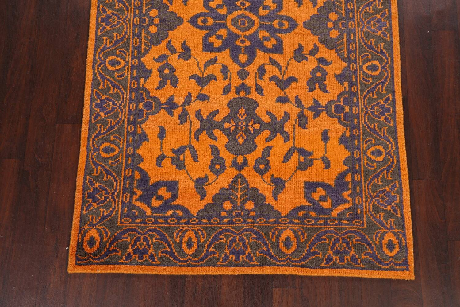 Floral Abstract Oriental Area Rug 5x8 image 8