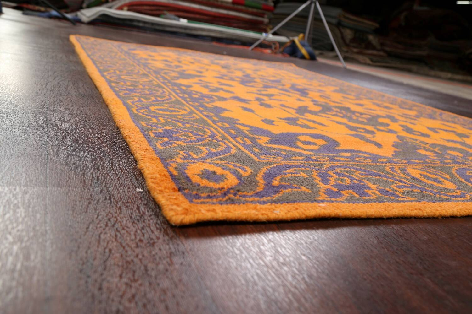 Floral Abstract Oriental Area Rug 5x8 image 6