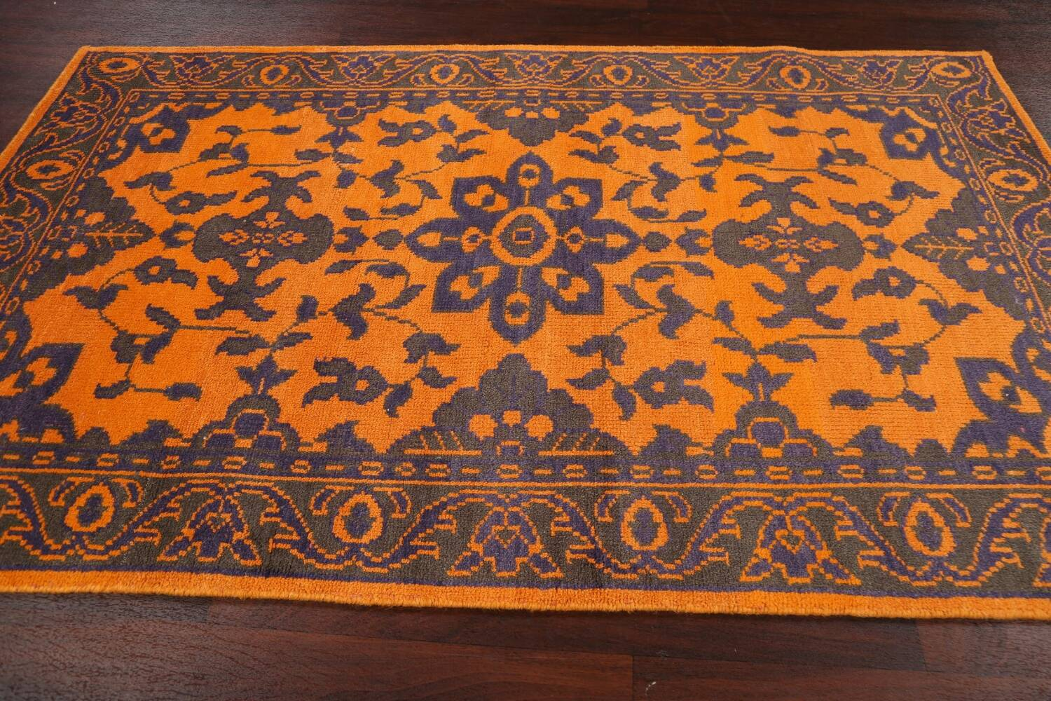Floral Abstract Oriental Area Rug 5x8 image 14