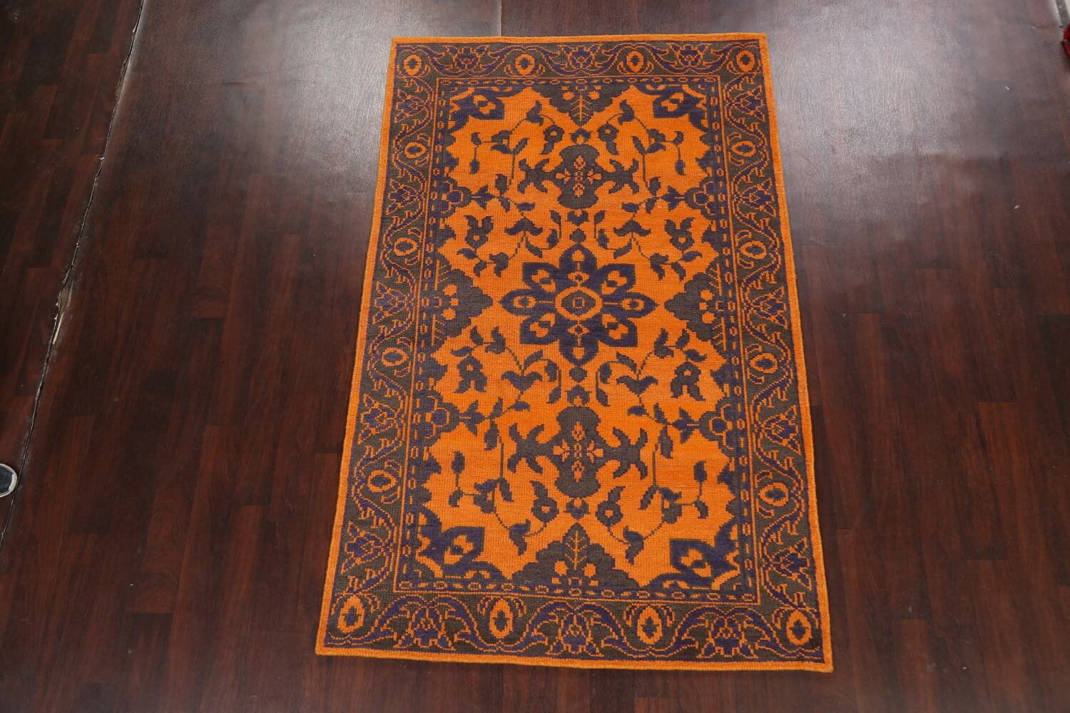 Floral Abstract Oriental Area Rug 5x8 image 15