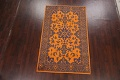 Floral Abstract Oriental Area Rug 5x8 image 2