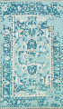 Contemporary Abstract Oriental Area Rug 5x8 image 1